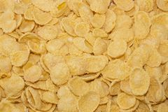 Corn flakes background texture Stock Images
