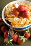 Corn Flakes Breakfast Stock Photography