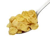 Corn flakes cereals muesli food Stock Photos