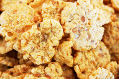 Corn flakes Royalty Free Stock Photography
