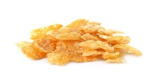 Corn flakes, cornflakes isolated on white background Stock Photos