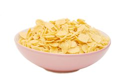 Corn flakes  in a Cup Royalty Free Stock Photos