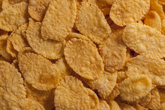 Corn flakes food background. Food background made of many corn flakes Royalty Free Stock Images