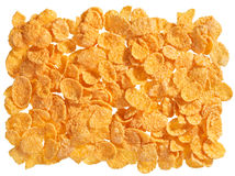 Corn flakes food background Royalty Free Stock Photography