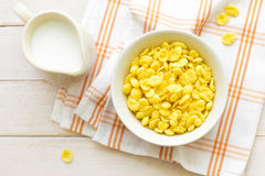 Corn flakes Stock Photography