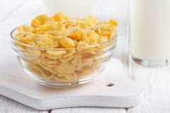 Corn flakes Stock Image