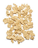 Corn flakes isolated Royalty Free Stock Images