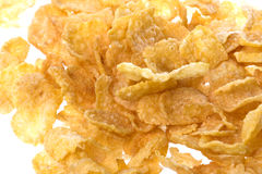 Corn Flakes Macro Royalty Free Stock Photography