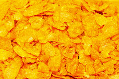 Corn flakes pattern Stock Image
