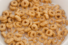 Corn flakes rings Stock Photography