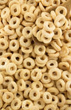 Corn flakes rings as background Stock Photos