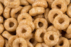 Corn flakes rings Royalty Free Stock Images