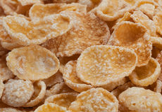 Corn flakes in sugar glazed Royalty Free Stock Photos