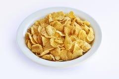 Corn- FlakesFrühstückskost aus Getreide Stockbild