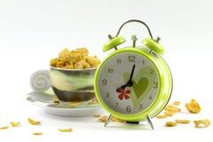 Corn-Flakeskaffee Lizenzfreies Stockbild