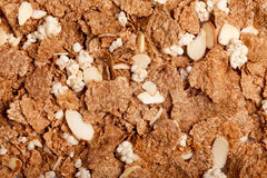 Corn-Flakesmutterenhintergrund Stockbild