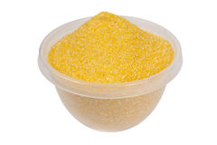 Corn flour Royalty Free Stock Photography