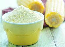 Corn flour Royalty Free Stock Photo