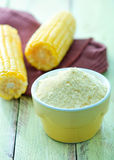 Corn flour Stock Photography