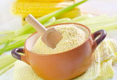 Corn flour Royalty Free Stock Images