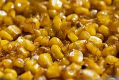 Corn fried in oil Stock Image