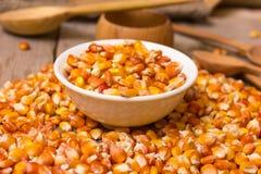 Corn grains Stock Image