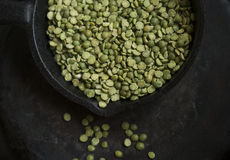 Corn green dry peas Stock Photography