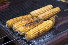 Corn grill Stock Photography