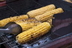 Corn grill Stock Photo
