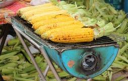 Corn grills Stock Photos