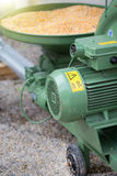 Corn grinding mill Royalty Free Stock Image