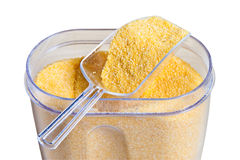 Corn grits Stock Photography