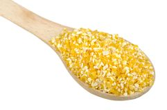 Corn grits Royalty Free Stock Images