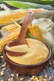 Corn grits polenta Royalty Free Stock Image