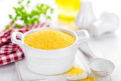 Corn grits Stock Image
