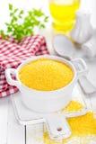 Corn grits Stock Photos