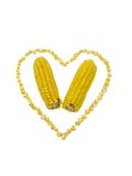 Corn heart royalty free stock images
