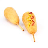 Corn Hot Dogs Royalty Free Stock Photography