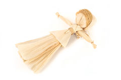 Corn husk doll Royalty Free Stock Photography