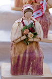 Corn husk doll Stock Photo