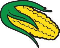 Colorful Corn icon royalty free illustration
