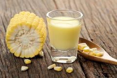 Corn juice Royalty Free Stock Image