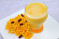 Corn juice Royalty Free Stock Photography