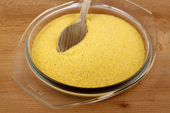 Corn meal Stock Image
