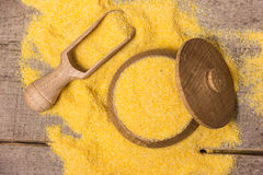 Corn meal Royalty Free Stock Photography