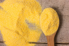 Corn meal Stock Photography