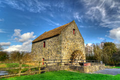 Corn mill in Bunratty Folk Park Royalty Free Stock Photo