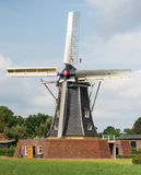 Corn mill de Bataaf from winterswijk. The construction of the Batavian mill began at the time of the Batavian Republic. In 1801 the mill was used for the first Stock Images