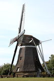 Corn mill De Phenix of Nes at Ameland Island, Holland royalty free stock photo