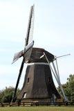 Corn mill De Phenix of Nes at Ameland Island, Holland Royalty Free Stock Photo